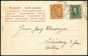 Sale Number 1117, Lot Number 4156, 1890-1902 Issues1c Blue Green (300), 1c Blue Green (300)