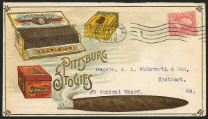 Sale Number 1117, Lot Number 4157, Advertising Covers2c Pink, Ty. III (267a), 2c Pink, Ty. III (267a)