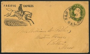 Sale Number 1117, Lot Number 4413, Western Mails and ExpressesPacific Express Co. San Francisco, Pacific Express Co. San Francisco