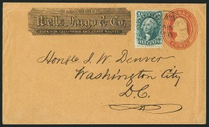 Sale Number 1117, Lot Number 4417, Western Mails and Expresses10c Green, Ty. II (32), 10c Green, Ty. II (32)