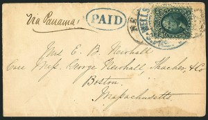 Sale Number 1117, Lot Number 4421, Western Mails and Expresses10c Yellow Green (68), 10c Yellow Green (68)