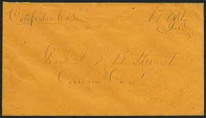 Sale Number 1117, Lot Number 4476, Confederate States: Jefferson Davis, Robert E. Lee, othersRobert E. Lee, Robert E. Lee