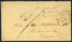 Sale Number 1117, Lot Number 4480, Confederate States: Jefferson Davis, Robert E. Lee, othersRobert Toombs, Robert Toombs