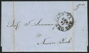Sale Number 1117, Lot Number 4483, Confederate States: U.S. Stamps used in ConfederacyNew Orleans La. 14 May (1861), New Orleans La. 14 May (1861)