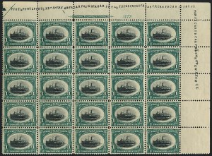 Sale Number 1118, Lot Number 181, 1901 Pan-American Issue Stamps1c Pan-American (294), 1c Pan-American (294)