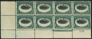 Sale Number 1118, Lot Number 183, 1901 Pan-American Issue Stamps1c Pan-American (294), 1c Pan-American (294)