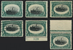 Sale Number 1118, Lot Number 185, 1901 Pan-American Issue Stamps1c Pan-American (294), 1c Pan-American (294)