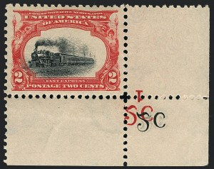 Sale Number 1118, Lot Number 189, 1901 Pan-American Issue Stamps2c Pan-American (295), 2c Pan-American (295)