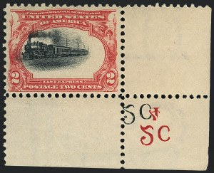 Sale Number 1118, Lot Number 191, 1901 Pan-American Issue Stamps2c Pan-American (295), 2c Pan-American (295)