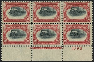 Sale Number 1118, Lot Number 192, 1901 Pan-American Issue Stamps2c Pan-American (295), 2c Pan-American (295)