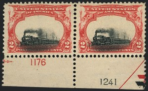 Sale Number 1118, Lot Number 194, 1901 Pan-American Issue Stamps2c Pan-American (295), 2c Pan-American (295)
