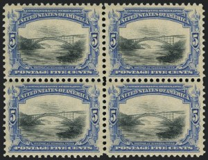 Sale Number 1118, Lot Number 199, 1901 Pan-American Issue Stamps5c Pan-American (297), 5c Pan-American (297)
