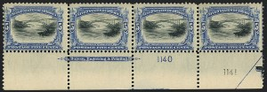 Sale Number 1118, Lot Number 201, 1901 Pan-American Issue Stamps5c Pan-American (297), 5c Pan-American (297)