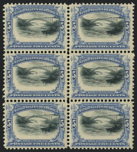 Sale Number 1118, Lot Number 202, 1901 Pan-American Issue Stamps5c Pan-American (297), 5c Pan-American (297)