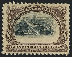 Sale Number 1118, Lot Number 203, 1901 Pan-American Issue Stamps8c Pan-American (298), 8c Pan-American (298)