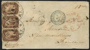 Sale Number 1119, Lot Number 553, 1857-60 Issue5c Brown (29), 5c Brown (29)