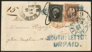 Sale Number 1119, Lot Number 564, SOUTHN. LETTER UNPAID
