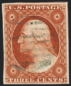 Sale Number 1120, Lot Number 1114, 3c 1851-56 Issue (Scott 10-11A)3c Orange Brown, Ty. II (10A), 3c Orange Brown, Ty. II (10A)