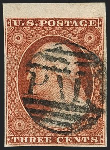 Sale Number 1120, Lot Number 1118, 3c 1851-56 Issue (Scott 10-11A)3c Orange Brown, Ty. II (10A), 3c Orange Brown, Ty. II (10A)