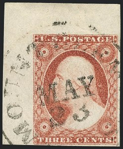 Sale Number 1120, Lot Number 1137, 3c 1851-56 Issue (Scott 10-11A)3c Dull Red, Ty. II (11A), 3c Dull Red, Ty. II (11A)
