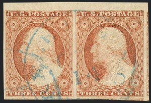Sale Number 1120, Lot Number 1153, 3c 1851-56 Issue (Scott 10-11A)3c Dull Red, Ty. II (11A), 3c Dull Red, Ty. II (11A)