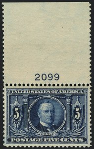 Sale Number 1120, Lot Number 1451, 1904-07 Louisiana Purchase, Jamestown Issues (Scott 323-330)5c Louisiana Purchase (326), 5c Louisiana Purchase (326)