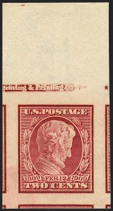 Sale Number 1120, Lot Number 1466, 1908-13 Washington-Franklin Issues (Scott 331-388)2c Lincoln, Imperforate (368), 2c Lincoln, Imperforate (368)