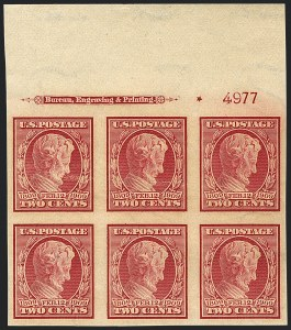 Sale Number 1120, Lot Number 1467, 1908-13 Washington-Franklin Issues (Scott 331-388)2c Lincoln, Imperforate (368), 2c Lincoln, Imperforate (368)