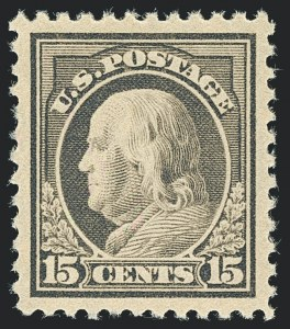 Sale Number 1120, Lot Number 1523, 1917-19 Issues (Scott 481-524)15c Gray (514), 15c Gray (514)