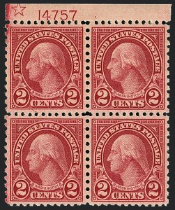 Sale Number 1120, Lot Number 1549, 1922-29 Issues (Scott 551-621)2c Carmine, Rotary (579), 2c Carmine, Rotary (579)