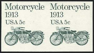 Sale Number 1120, Lot Number 1632, Modern Errors (Scott 1415b-1899a )5c Motorcycle, Coil Pair, Imperforate (1899a), 5c Motorcycle, Coil Pair, Imperforate (1899a)