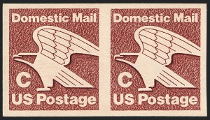Sale Number 1120, Lot Number 1633, Modern Errors (Scott 1947a-3265c )(20c) C Stamp Coil, Imperforate (1947a), (20c) C Stamp Coil, Imperforate (1947a)