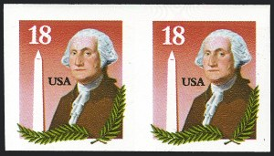 Sale Number 1120, Lot Number 1635, Modern Errors (Scott 1947a-3265c )18c Washington & Monument, Coil, Imperforate (2149b), 18c Washington & Monument, Coil, Imperforate (2149b)