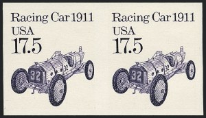Sale Number 1120, Lot Number 1641, Modern Errors (Scott 1947a-3265c )17.5c Racing Car, Coil, Imperforate (2262b), 17.5c Racing Car, Coil, Imperforate (2262b)