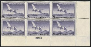Sale Number 1121, Lot Number 2159, Hunting Permit Stamps (RW15-RW22)$2.00 1950 Hunting Permit (RW17), $2.00 1950 Hunting Permit (RW17)