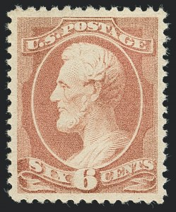Sale Number 1122, Lot Number 107, 1882 Special Printing and 1881-83 American Bank Note Co. Issues (Scott 205-211B)6c Rose (208), 6c Rose (208)