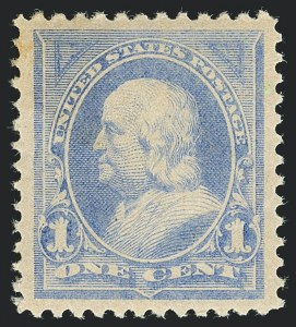 Sale Number 1122, Lot Number 137, 1894-95 Bureau Issues (Scott 246-278)1c Ultramarine (246), 1c Ultramarine (246)
