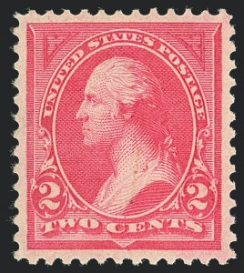 Sale Number 1122, Lot Number 139, 1894-95 Bureau Issues (Scott 246-278)2c Pink, Ty. I (248), 2c Pink, Ty. I (248)