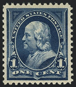Sale Number 1122, Lot Number 150, 1894-95 Bureau Issues (Scott 246-278)1c Blue (264), 1c Blue (264)