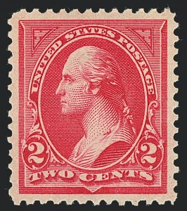 Sale Number 1122, Lot Number 151, 1894-95 Bureau Issues (Scott 246-278)2c Carmine, Ty. II (266), 2c Carmine, Ty. II (266)