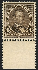 Sale Number 1122, Lot Number 152, 1894-95 Bureau Issues (Scott 246-278)4c Dark Brown (269), 4c Dark Brown (269)