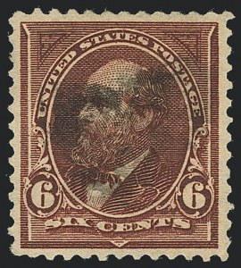 Sale Number 1122, Lot Number 156, 1894-95 Bureau Issues (Scott 246-278)6c Dull Brown, USIR Watermark (271a), 6c Dull Brown, USIR Watermark (271a)