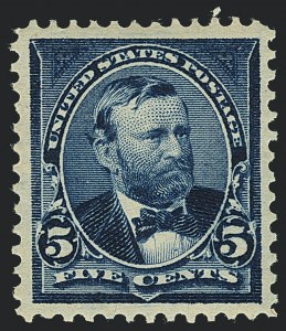 Sale Number 1122, Lot Number 163, 1897-1903 Change of Colors (Scott 279-284)5c Dark Blue (281), 5c Dark Blue (281)