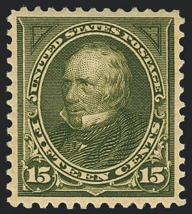 Sale Number 1122, Lot Number 167, 1897-1903 Change of Colors (Scott 279-284)15c Olive Green (284), 15c Olive Green (284)