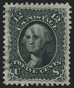 Sale Number 1122, Lot Number 51, 1867-68 Grilled Issue (Scott 79-101)
