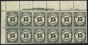 Sale Number 1123, Lot Number 561, Post Office Department15c Post Office (O53), 15c Post Office (O53)