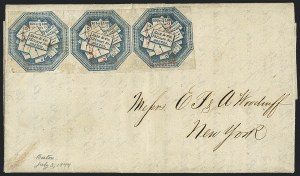 Sale Number 1124, Lot Number 76, Hale & Company: First Issue Blue (75L1)Hale & Co., 5c Blue (75L1), Hale & Co., 5c Blue (75L1)