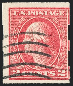 Sale Number 1129, Lot Number 424, Washington-Franklin and Panama-Pacific Issues2c Deep Rose, Ty. Ia, Imperforate (482A), 2c Deep Rose, Ty. Ia, Imperforate (482A)