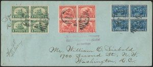 Sale Number 1129, Lot Number 431, Later Issues1c-5c Pilgrim Tercentenary (548-550), 1c-5c Pilgrim Tercentenary (548-550)