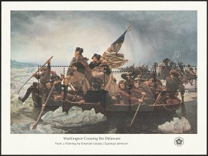 Sale Number 1129, Lot Number 434, Later Issues24c Washington Crossing the Delaware, Perforations Inverted and Reversed (1688n), 24c Washington Crossing the Delaware, Perforations Inverted and Reversed (1688n)